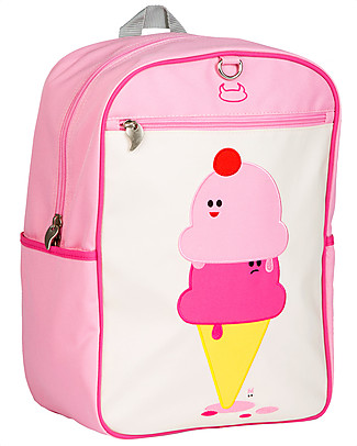 Beatrix NY Big Kid Backpack 27.5 x 38 x 15 cm, Ice Cream - Perfect for school! Large Backpacks