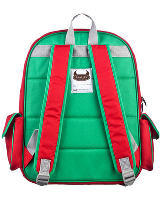 Beatrix NY Big Kid Backpack Juju the Ladybird - Durable, PVC and BPA free! (perfect for school/Ages 5-10!) Large Backpacks