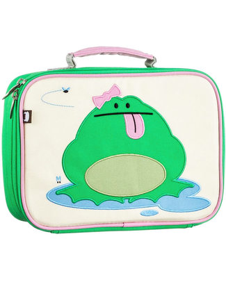 Beatrix NY Katarina the Frog Insulated Lunch Box - Durable and Safe (BPA and PVC Free) Lunch Boxes
