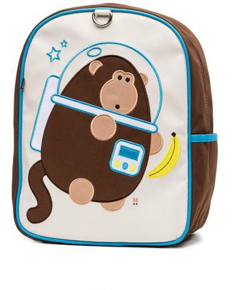 Beatrix NY Little Kid Backpack Dieter the Monkey in Space! - Durable, PVC and BPA free! (perfect for Ages 2-4) Small Backpacks
