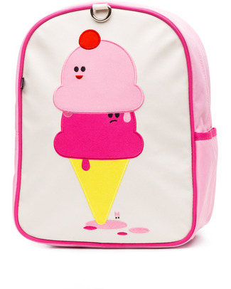Beatrix NY Little Kid Backpack Dolce & Panna - durable, PVC and BPA free! (perfect for Ages 2-4) Small Backpacks