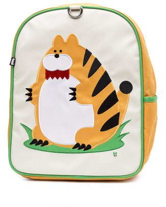 Beatrix NY Little Kid Backpack Narangi TheTiger - durable, PVC and BPA free! (perfect for Ages 2-4) Small Backpacks