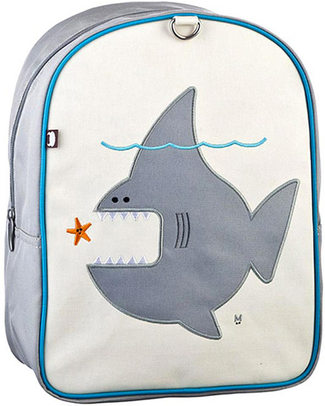 Beatrix NY Little Kid Backpack Nigle the Shark - durable, PVC and BPA free! (perfect for Ages 2-4) Small Backpacks