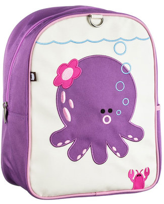 Beatrix NY Little Kid Backpack Penelope the Octopus - durable, PVC and BPA free! (perfect for Ages 2-4) Small Backpacks