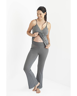 Belabumbum Before & After Maternity Lounge Pants - Slate Grey Trousers
