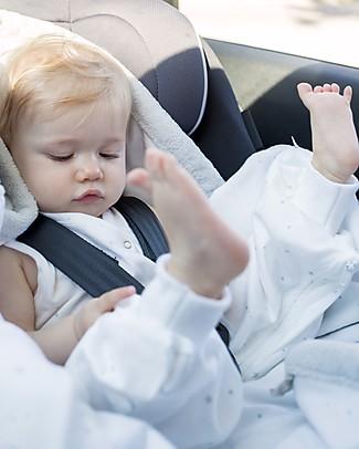 Bemini MAGIC BAG® Jersey 3-9 months, Stary Ecru - Summer Quality Light Sleeping Bags