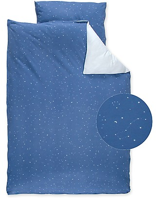 Bemini Toddler bedding Set 100x140 cm, Stary Shade - 100% cotton Duvet Sets