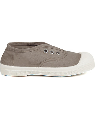 Bensimon Elly Tennis Shoes without Laces, Mastic - Cotton Shoes
