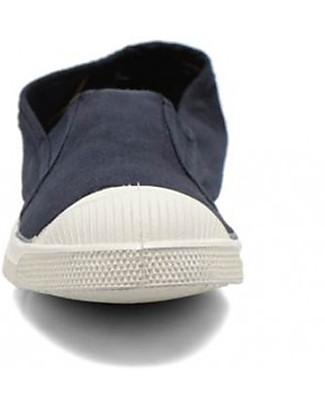 Bensimon Tommy Tennis Shoes Elasticated, Navy - Cotton Shoes