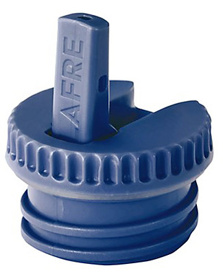 Blafre Cap with Spout, Dark Blue - Suitable for all Blafre bottles! Metal Bottles