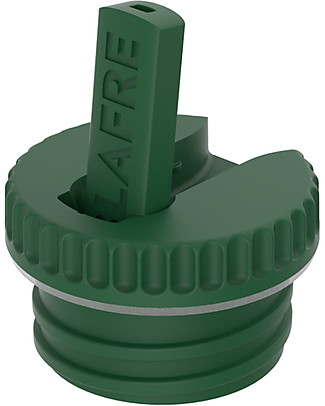 Blafre Cap with Spout, Dark Green - Suitable for all Blafre bottles! Metal Bottles