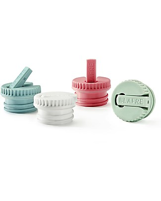 Blafre Cap with Spout, Light Green - Suitable for all Blafre bottles! Metal Bottles