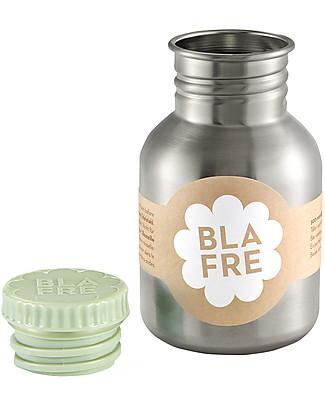 Blafre Stainless Steel Bottle 300 ml, Light Green - BPA and phthalates free! Metal Bottles
