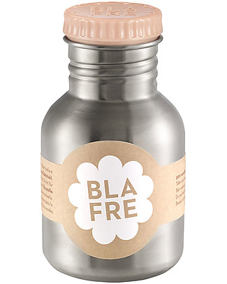 Blafre Stainless Steel Bottle 300 ml, Peach - BPA and phthalates free! null