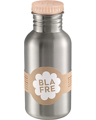 Blafre Stainless Steel Bottle 500 ml, Peach - BPA and phthalates free! null