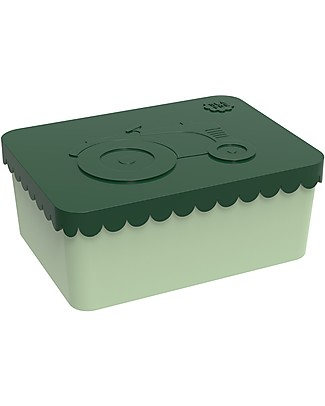 Blafre Tractor Lunch Box 14 x 10 x 6 cm - Free from BPA or phthalates! null