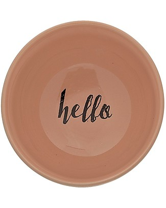 Bloomingville Audrey Bowl, White - Stoneware Bowls & Plates