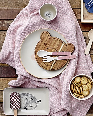 Bloomingville Bear Cutting Board, 15x15 cm - Acacia Wood Kitchen accessories