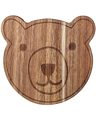 Bloomingville Bear Cutting Board, 15x15 cm - Acacia Wood Kitchen accessories