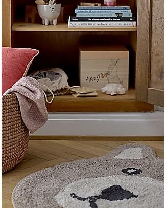 Bloomingville Bear Rug, Brown - 70x62 cm Carpets