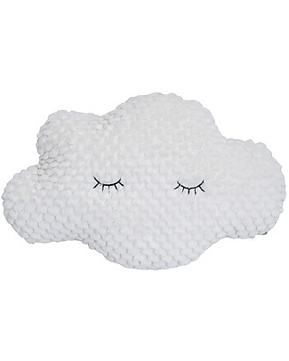 Bloomingville Cloud Cushion, White - 45x30x15 cm Cushions