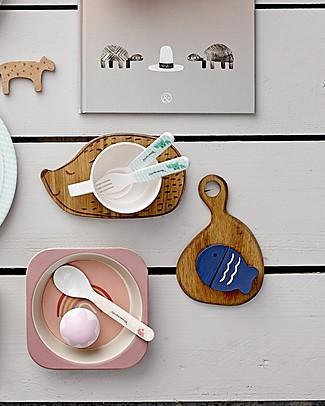 Bloomingville Hedgehog Cutting Board, 15x10 cm - Acacia Wood Kitchen accessories