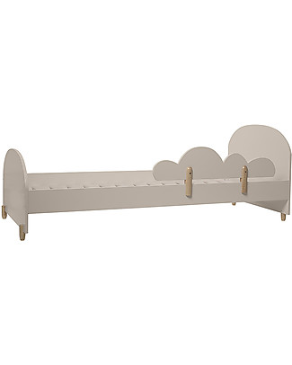 Bloomingville Junior Bed with Safety Rail, 200x70x90 cm - MDF Single Bed