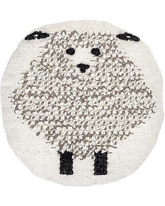 Bloomingville Sheep Cushion, 45 cm - Wool Cushions