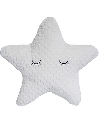Bloomingville Star Shaped Cushion, White - 35 cm Cushions