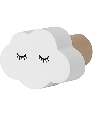 Bloomingville Wall Hook, White Cloud - MDF Hangers & Hooks