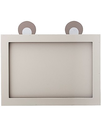 Bloomingville Wooden Frame with Ears, Grey - 33x30 cm Frames