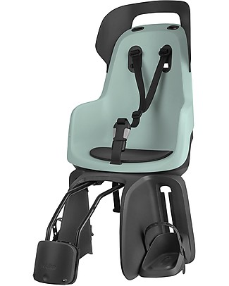 Bobike Safety Seat for Bike Go Frames (up to 22 kg), Marshmallow Mint Bycicles