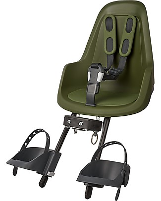 Bobike Safety Seat for Bike One Mini (up to 15 kg), Olive Green Bycicles