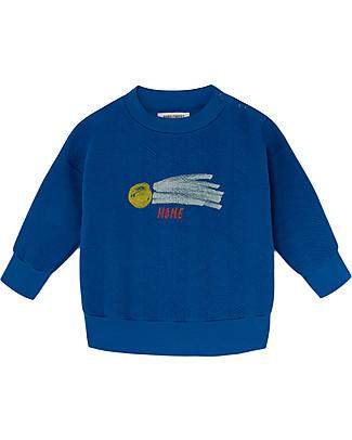 Bobo Choses Baby Sweatshirt, A Star Called Home - 100% Organic Cotton Sweatshirts