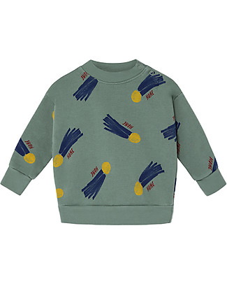 Bobo Choses Baby Sweatshirt, All Over a Star Called Home - 100% Organic Cotton Sweatshirts