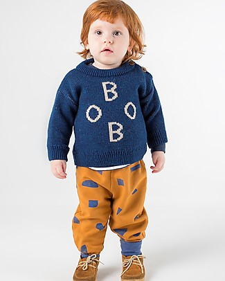 Bobo Choses Jaquard Baby Jumper, Bobo - Knitting Stitch Jumpers