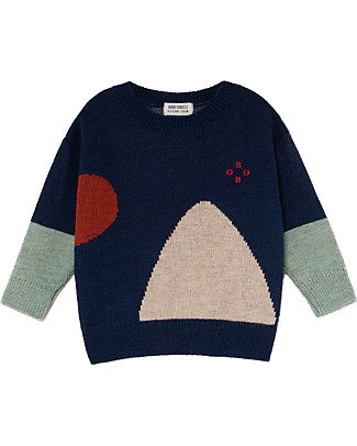Bobo Choses Jaquard Jumper, Bobo - Knitted in Geometric Pattern! Jumpers