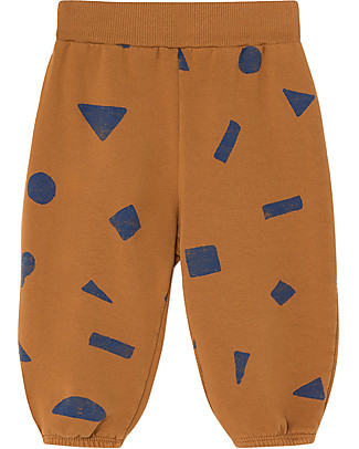 Bobo Choses  Jogging Pants, All Over Stuff - Elasticated Organic Cotton Shorts