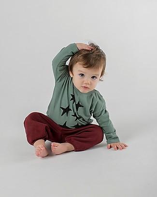 Bobo Choses Long Sleeve Baby T-shirt, Stars - 100% Organic Cotton Long Sleeves Tops