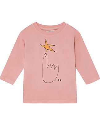 Bobo Choses Long Sleeve Baby T-shirt, The Northstar - 100% Organic Cotton Long Sleeves Tops