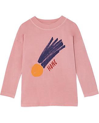 Bobo Choses Long Sleeve T-shirt, A Star Called Home - 100% Organic Cotton Long Sleeves Tops