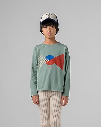 Bobo Choses Long Sleeve T-shirt, Flag - 100% Organic Cotton Long Sleeves Tops