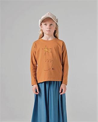 Bobo Choses Long Sleeve T-shirt, The Northstar - 100% Organic Cotton Long Sleeves Tops