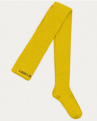 Bobo Choses Lurex Tights, Yellow - Bright! Tights