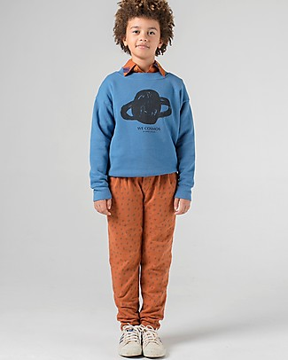 Bobo Choses Track Pants, All Over Stars - Chic but Casual! Trousers