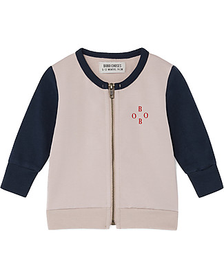 Bobo Choses Zipped Sweatshrt, Archigram Saturn - Organic Cotton Sweatshirts