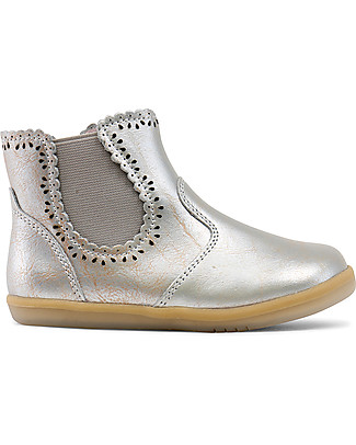 Bobux I-Walk Classic Lucky Boot, Molten Gold-Silver Shoes