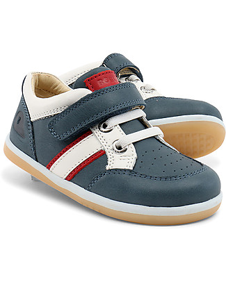 Bobux I-Walk Classic Racer Sport Shoe, Airforce (Blue Avio) - Super flexible sole! Shoes