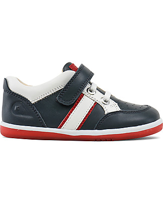 Bobux I-Walk Classic Racer Sport Shoe, Navy - Super flexible sole! Shoes