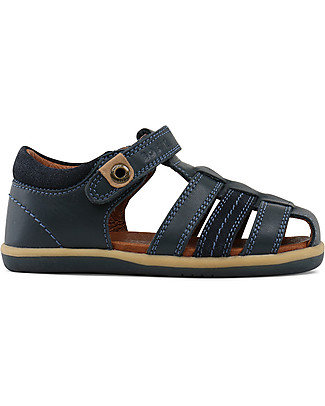 Bobux I-Walk Classic Roamer Sandal, Navy - Super flexible sole! Shoes